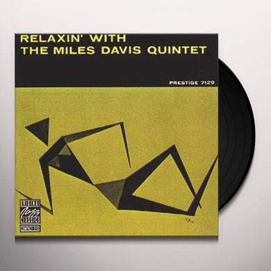 Relaxin' With The Miles Davis Quintet (LP) Vinyl Record