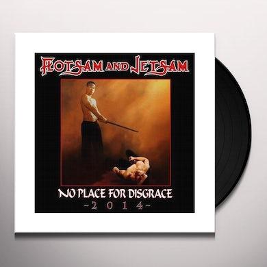 Flotsam & Jetsam NO PLACE FOR DISGRACE 2014 Vinyl Record
