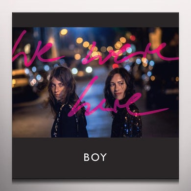 Boy WE WERE HERE Vinyl Record - Colored Vinyl, Limited Edition, Digital Download Included