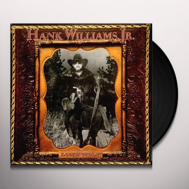 Hank Williams Jr. LONE WOLF Vinyl Record