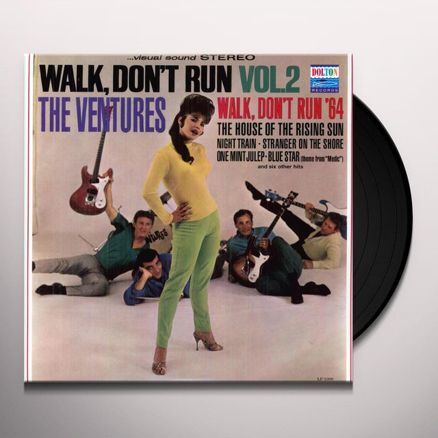 Ventures WALK DON'T RUN 2 Vinyl Record