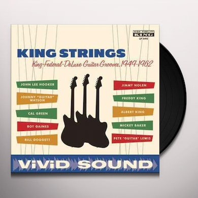 KING STRINGS KING FEDERAL DELUXE GUITAR GROOVES 1949-1962 Vinyl Record