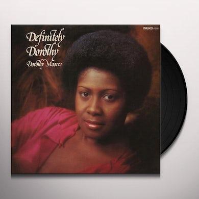 Dorothy Moore DEFINITELY DOROTHY Vinyl Record