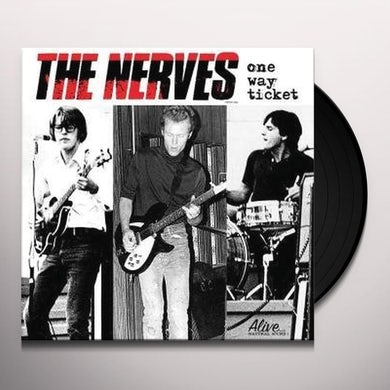 Nerves ONE WAY TICKET Vinyl Record