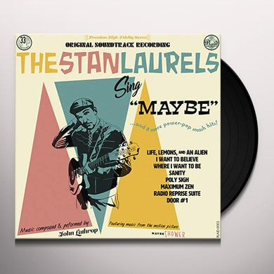 SING MAYBE: MAYBE SHOWER - Original Soundtrack Vinyl Record