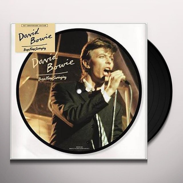 David Bowie BOYS KEEP SWINGING (40TH ANNIVERSARY) Vinyl Record