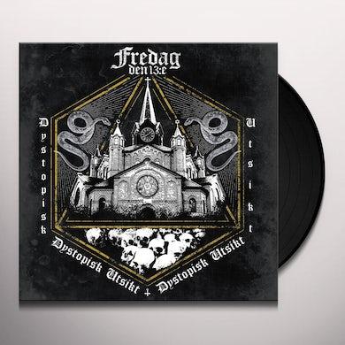 Fredag Den 13:E DYSTOPISK UTSIKT Vinyl Record