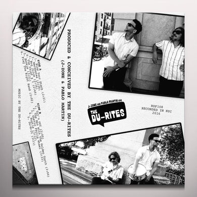 J-ZONE & PABLO MARTIN ARE THE DU-RITES Vinyl Record