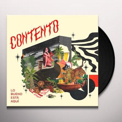 Contento LO BUENO ESTA AQUI Vinyl Record