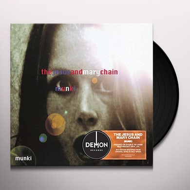 The Jesus and Mary Chain MUNKI Vinyl Record - UK Release
