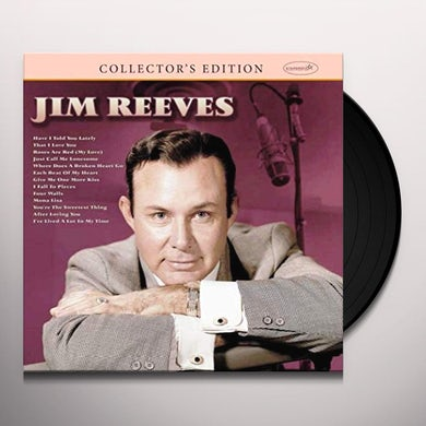COLLECTOR'S EDITION: JIM REEVES Vinyl Record