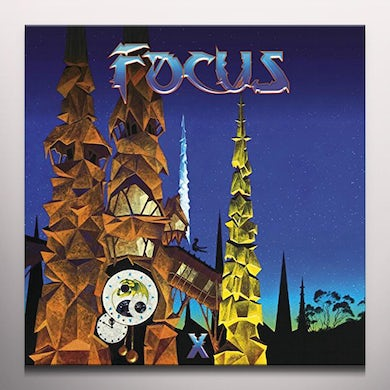 Focus X. (BLUE VINYL) Vinyl Record