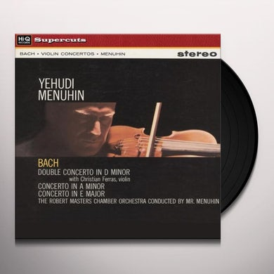 Yehudi Menuhin BACH CONCERTOS Vinyl Record