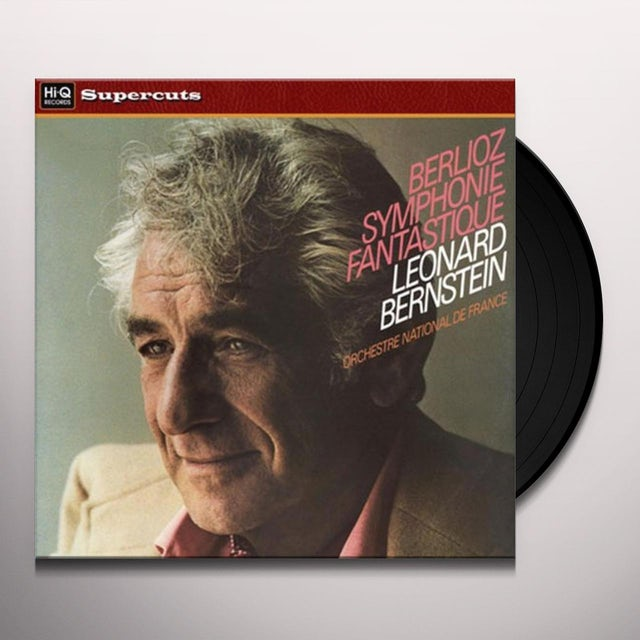 Bernstein / Orchestra National De France BERLIOZ'S SYMPHONIE FANTASTIQUE Vinyl Record