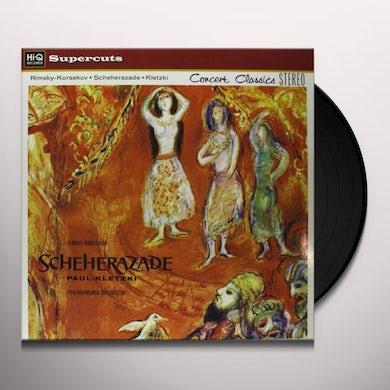 Kletzki / Philharmonia Orchestra RIMSKY-KORSAKOV SCHEHERAZADE Vinyl Record