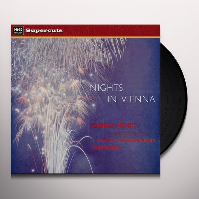 Rudolf Kempe NIGHTS IN VIENNA Vinyl Record