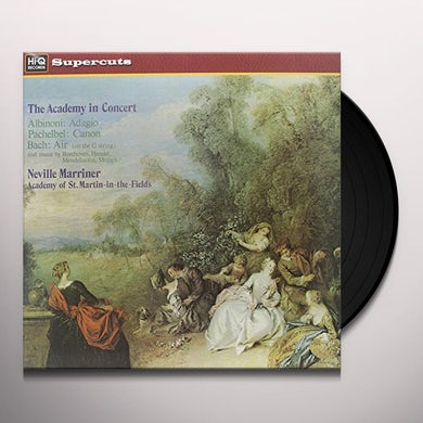 Neville / Academy Of St. Martin-In-The-Fi Marriner ACADEMY IN CONCERT Vinyl Record