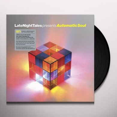 Groove Armada LATE NIGHT TALES PRESENTS AUTOMATIC SOUL Vinyl Record