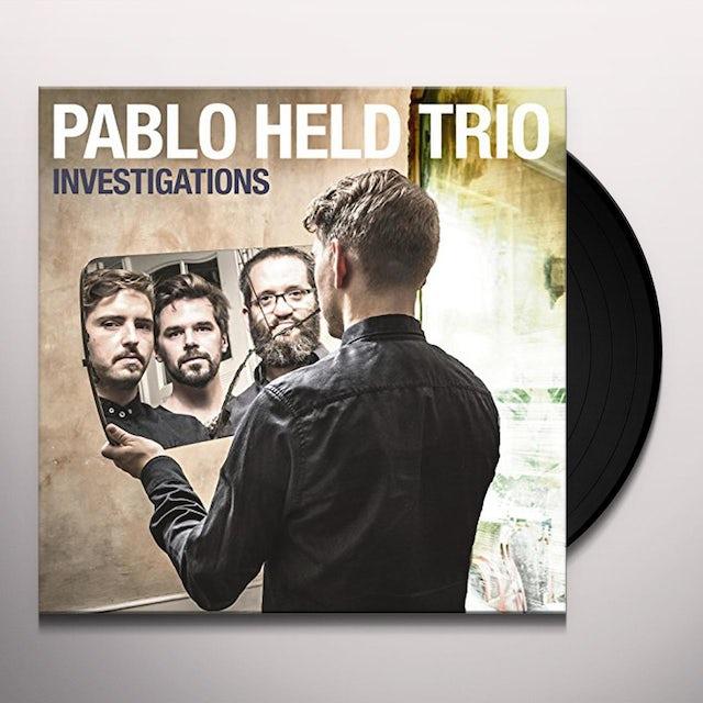 Pablo Trio Held INVESTIGATIONS Vinyl Record