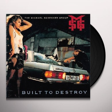 The Michael Schenker Group BUILT TO DESTORY Vinyl Record