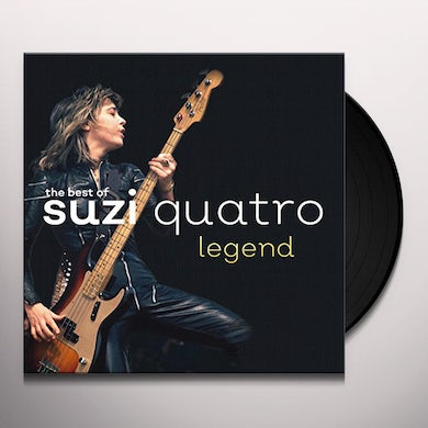 Suzi Quatro LEGEND: THE BEST OF Vinyl Record