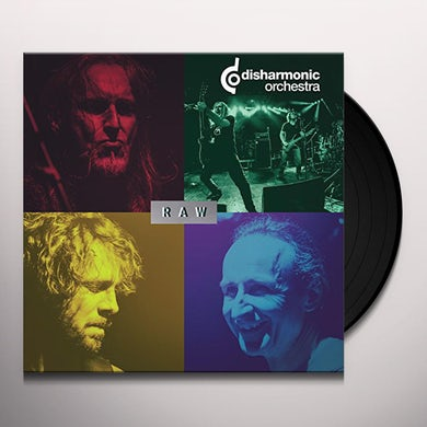 Disharmonic Orchestra RAW Vinyl Record