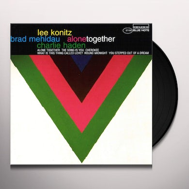 Lee Konitz ALONE TOGETHER Vinyl Record