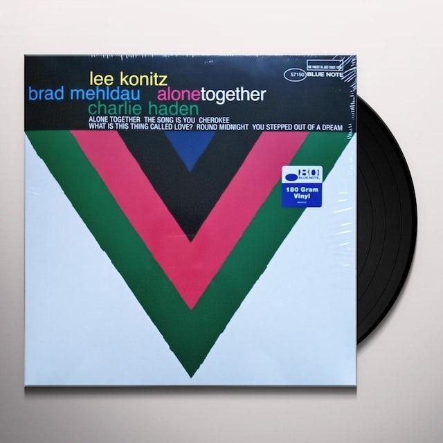 Lee Konitz ALONE TOGETHER Vinyl Record