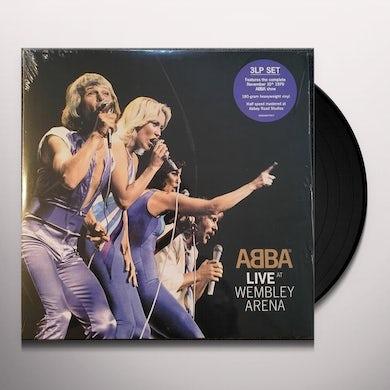Abba LIVE AT WEMBLEY ARENA Vinyl Record