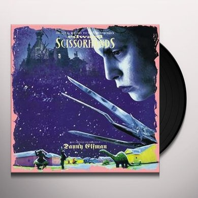 EDWARD SCISSORHANDS / O.S.T. Limited Pressing Vinyl Record