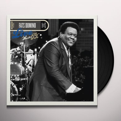Fats Domino LIVE FROM AUSTIN TX Vinyl Record