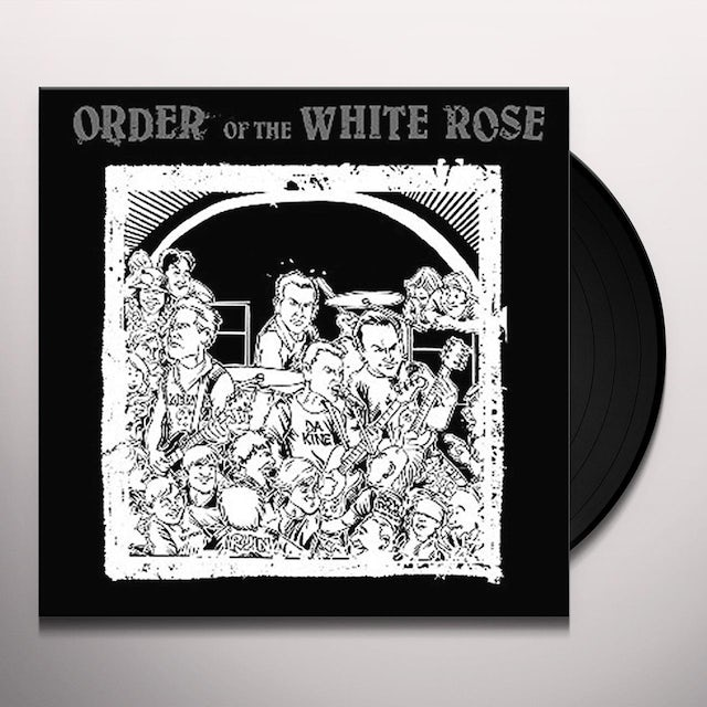 Order Of The White Rose GHOSTS OF THE SIDEWALK / SEEDS OF DESTRUCTION Vinyl Record