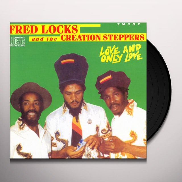 Fred Locks & The Creation Steppers LOVE & ONLY LOVE Vinyl Record