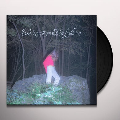 Common Holly WHEN I SAY TO YOU BLACK LIGHTNING Vinyl Record