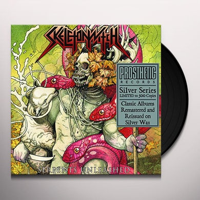 Skeletonwitch SERPENTS UNLEASHED (SILVER EDITION) Vinyl Record