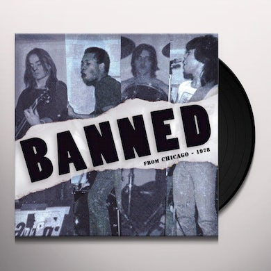 Banned: From Chicago 1978 Vinyl Record