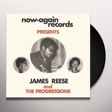 James Reese & Progressions WAIT FOR ME: COMPLETE WORKS 1967-1972 Vinyl Record