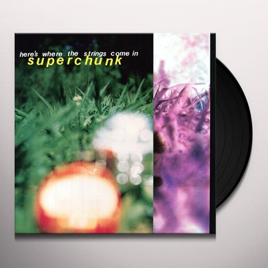 Superchunk HERE'S WHERE THE STRINGS COME IN Vinyl Record