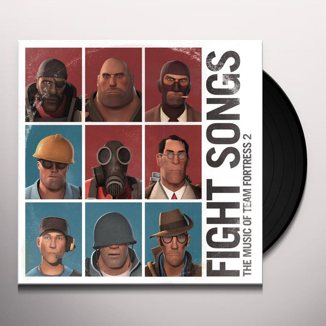 Valve Studio Orchestra FIGHT SONGS: THE MUSIC OF TEAM FORTRESS 2 Vinyl Record