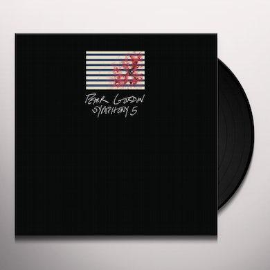 Peter Gordon SYMPHONY 5 Vinyl Record