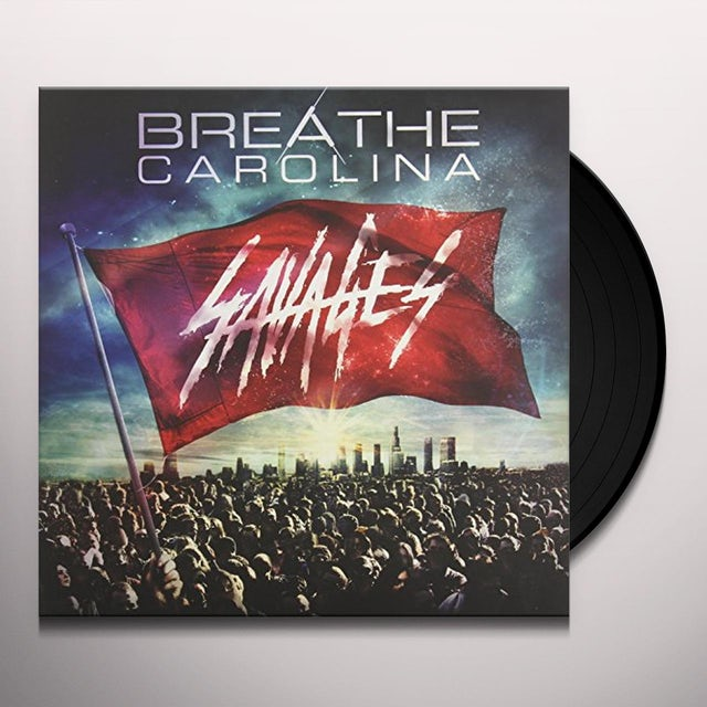 Breathe Carolina SAVAGES Vinyl Record