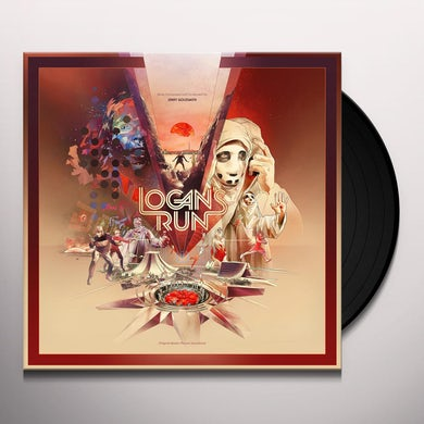 Jerry Goldsmith LOGAN'S RUN (ORIGINAL SOUNDTRACK) Vinyl Record