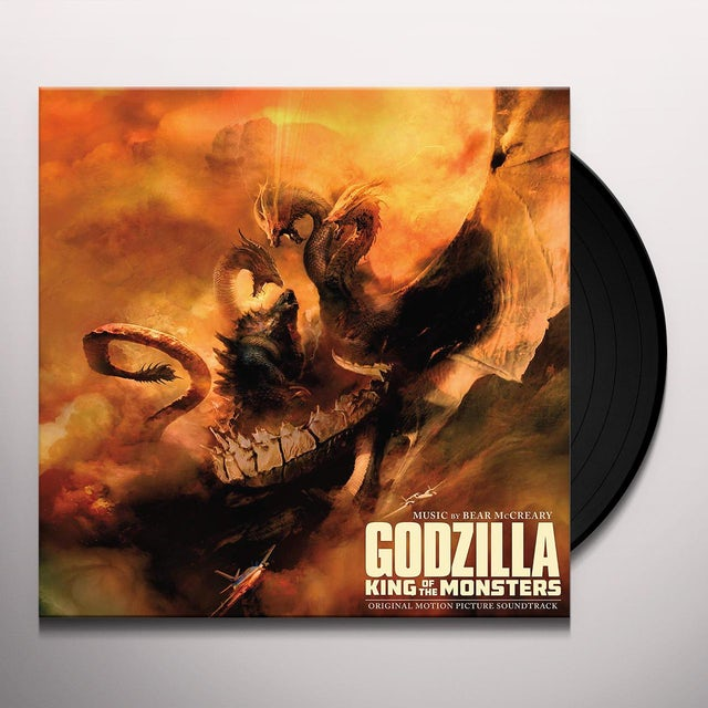 Bear McCreary GODZILLA: KING OF THE MONSTERS Vinyl Record