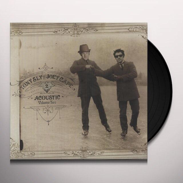Joey Cape / Tony Sly ACOUSTIC 2 Vinyl Record