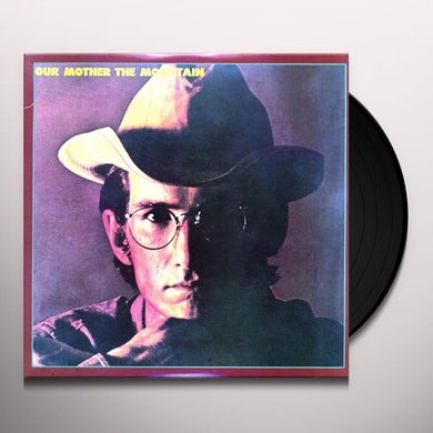 Townes Van Zandt OUR MOTHER THE MOUNTAIN Vinyl Record