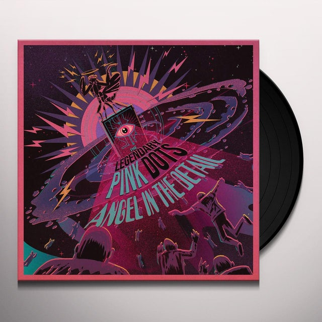 The Legendary Pink Dots ANGEL IN THE DETAIL Vinyl Record