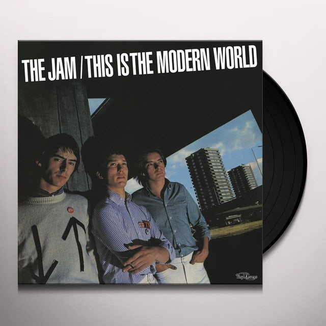 The Jam THIS IS THE MODERN WORLD Vinyl Record