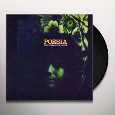 Riccardo Cocciante POESIA Vinyl Record