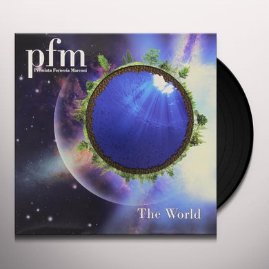 P. F. M. WORLD Vinyl Record