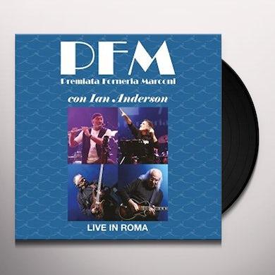 Pfm LIVE IN ROMA Vinyl Record
